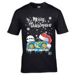 Premium Koolart Christmas Santa Hat Design & Impreza Turbo STI WRX car gift mens t-shirt top